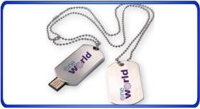 Clés USB personnalisé, dogtags