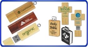 Clés USB personnalisé, clés usb en bois
