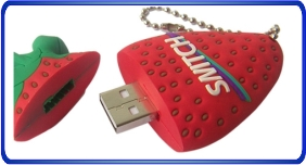 Clés USB personnalisé, clés usb en forme de fruits