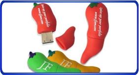 Clés USB personnalisé, clés usb en forme de légumes