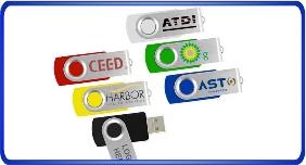 Clés USB personnalisé, clés usb pivotant, swivel usb, clés usb meilleure marché