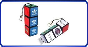 Clés USB personnalisé, clés usb en forme de cube Rubik