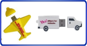 Clés USB personnalisé, clés usb en forme relier au transport
